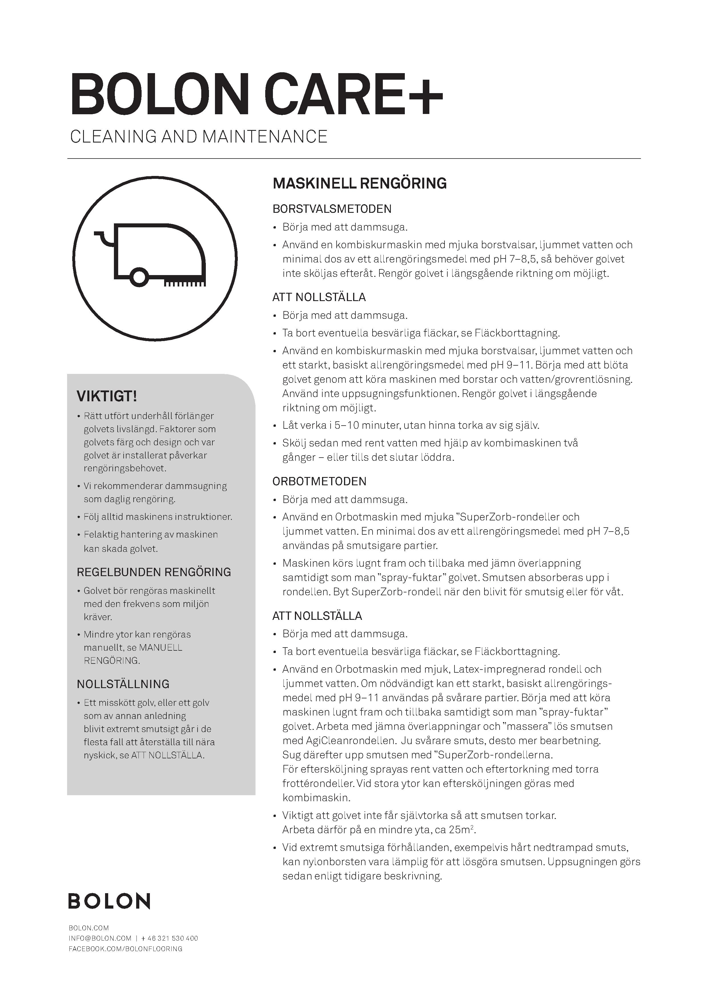 Maintenance_Bolon Flooring_SE