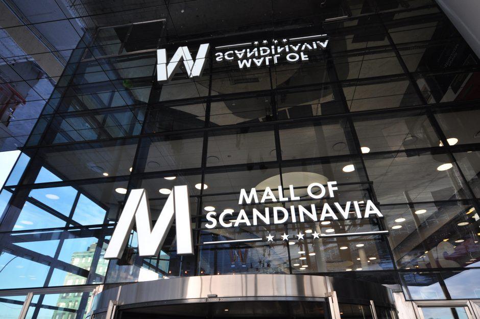 Mall of Scandinavia, rulltrappor (12)