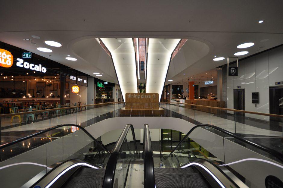 Mall of Scandinavia, rulltrappor (2)
