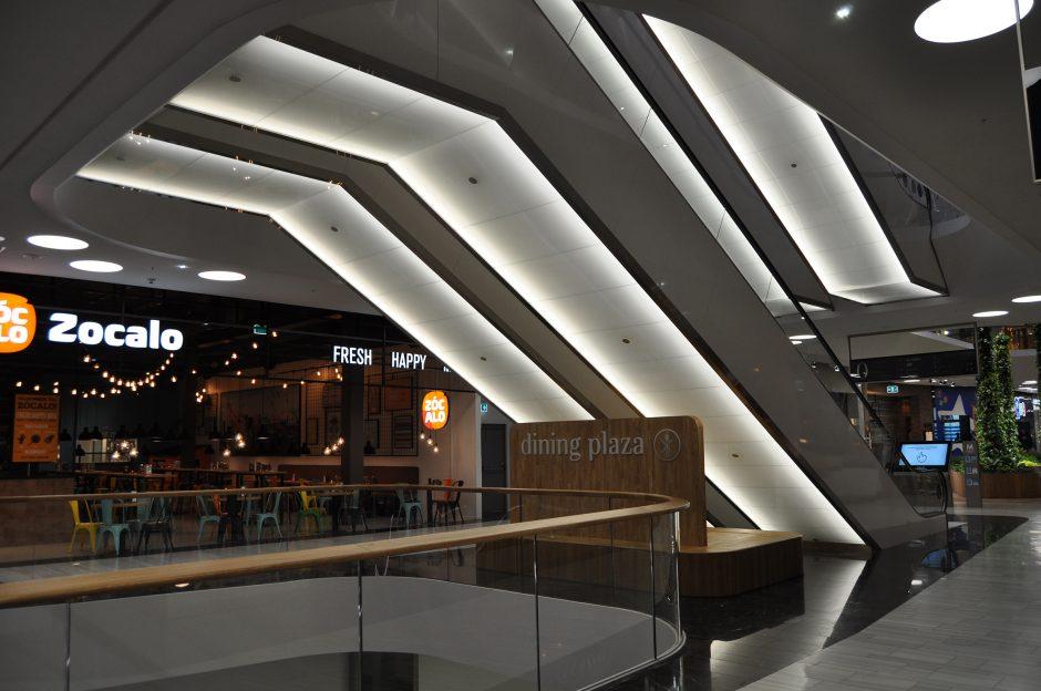 Mall of Scandinavia, rulltrappor (20)
