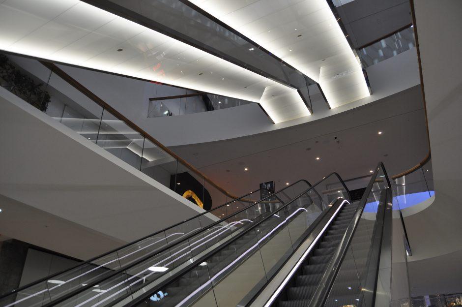 Mall of Scandinavia, rulltrappor (21)