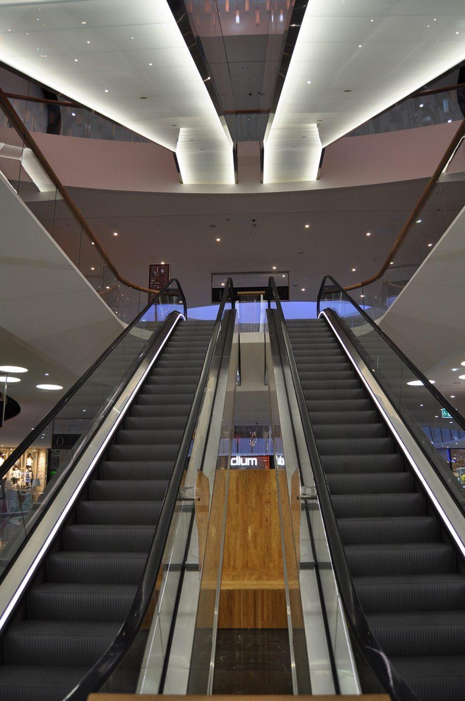 Mall of Scandinavia, rulltrappor (27)