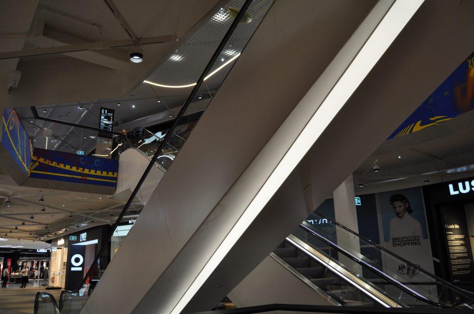 Mall of Scandinavia, rulltrappor (31)